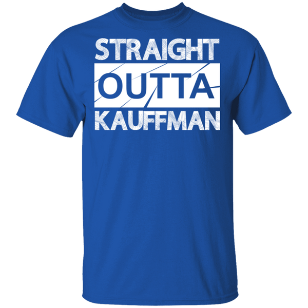 Straight Outta Kauffman T-Shirt CustomCat