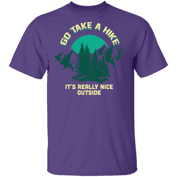 Take A Hike T-Shirt CustomCat