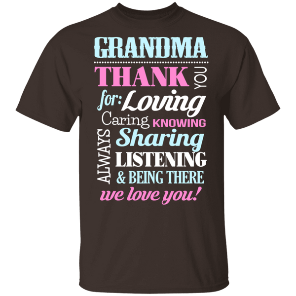 Thank you, Grandma T-Shirt CustomCat