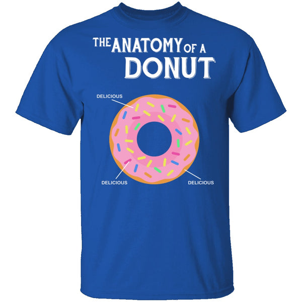 The Anatomy Of A Donut T-Shirt CustomCat