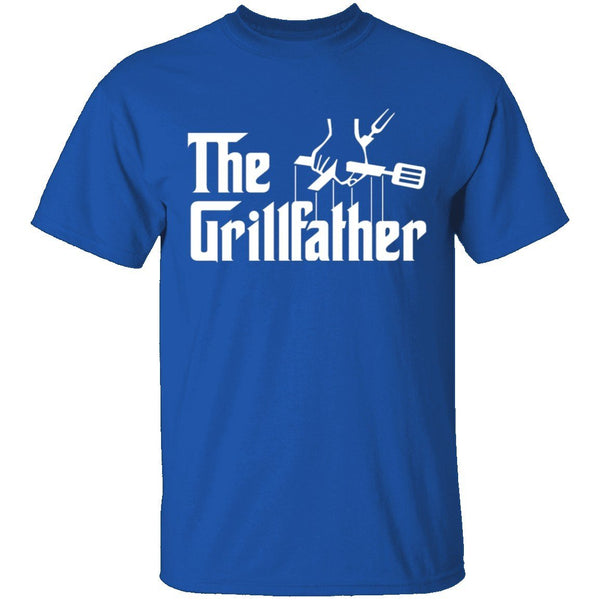 The Grillfather T-Shirt CustomCat