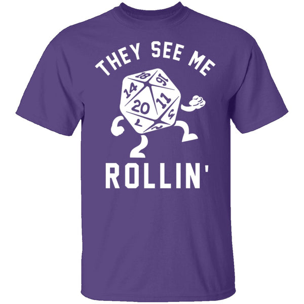 They See Me Rollin T-Shirt CustomCat