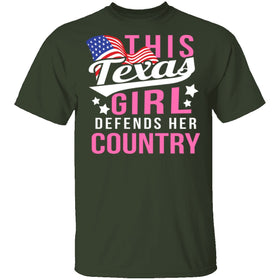 This Texas Girl Defends Her Country T-Shirt