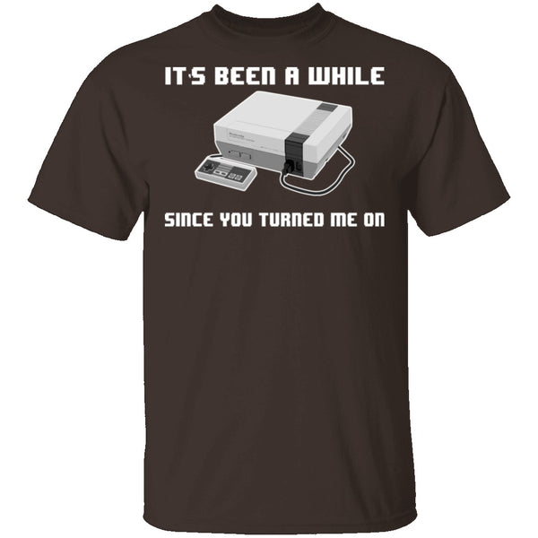 Turned Me On T-Shirt CustomCat