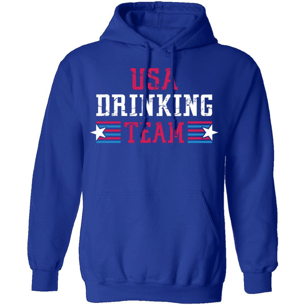 USA Drinking Team T-Shirt CustomCat