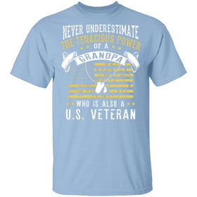 Veteran Grandpa T-Shirt