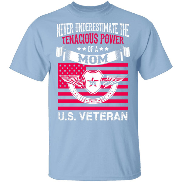 Veteran Mom T-Shirt CustomCat