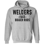 Welders Have Bigger Rods T-Shirt CustomCat