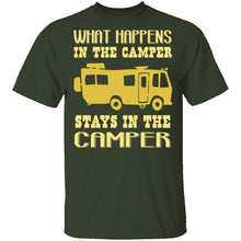 What Happens In The Camper Stays In The Camper T-Shirt