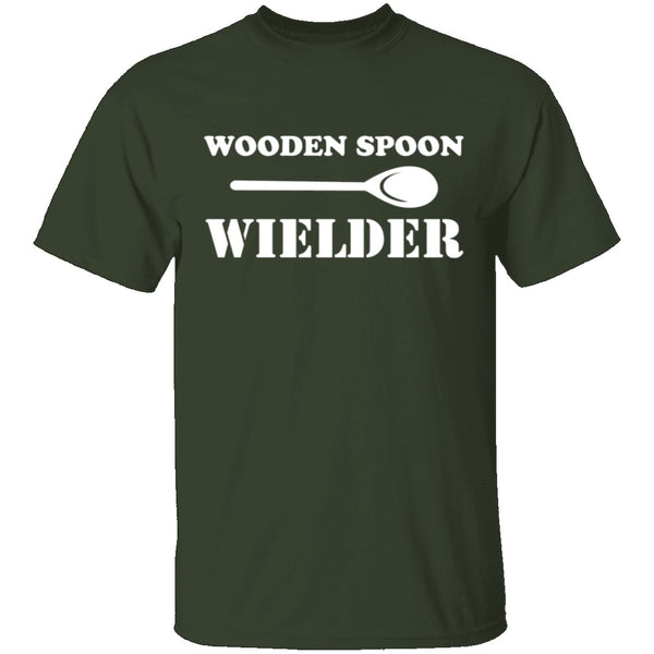 Wooden Spoon Wielder T-Shirt CustomCat