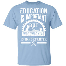 Woodworking Is Importanter T-Shirt