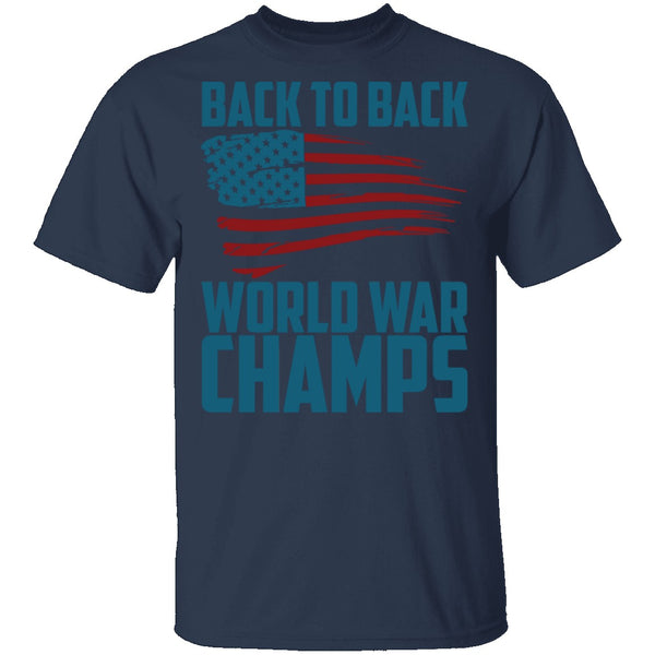 World War Champs T-Shirt CustomCat