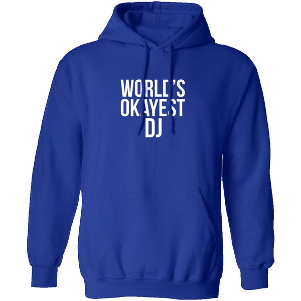 World's Okayest DJ T-Shirt CustomCat