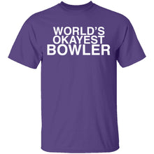 Worlds Okayest Bowler T-Shirt