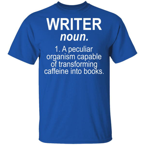 Writer Definition T-Shirt CustomCat