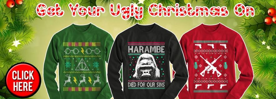 Christmas Shirts, Sweaters and Hoodies