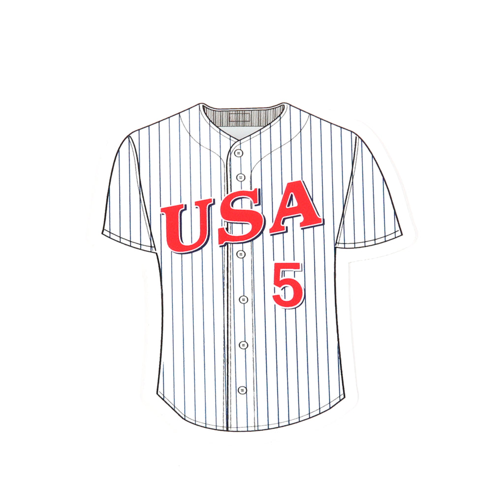 '92 Pinstripe Jersey Decal