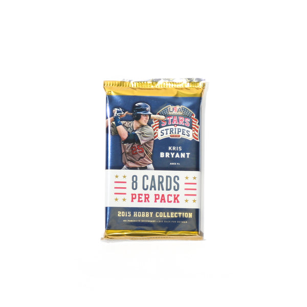 2015 USA Baseball Stars & Stripes Hobby Card Pack