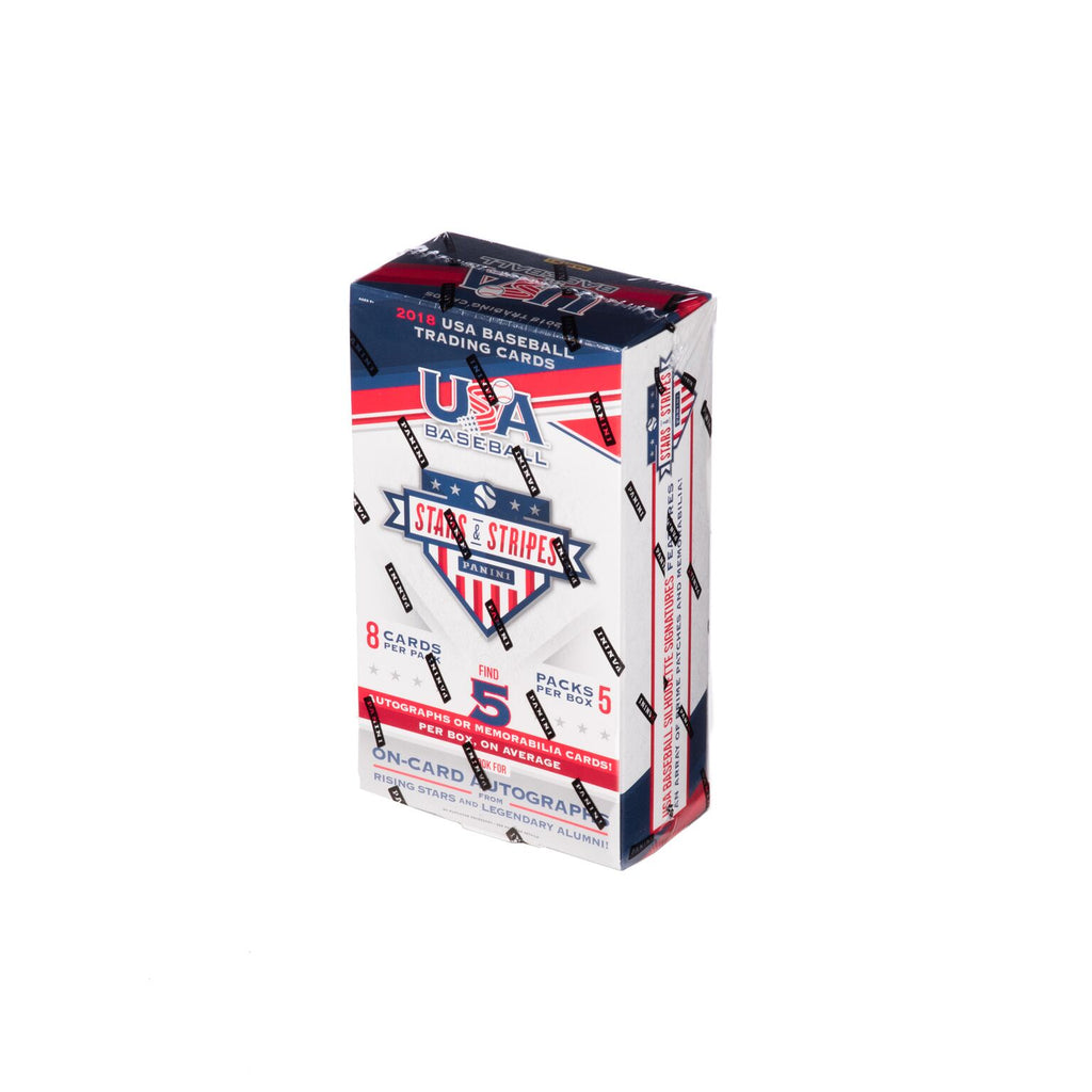 2018 USA Baseball Stars & Stripes Hobby Box
