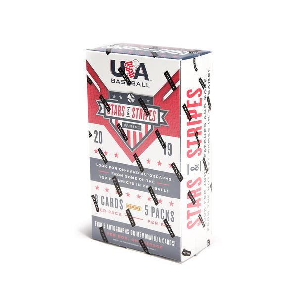 2019 USA Baseball Stars & Stripes Box