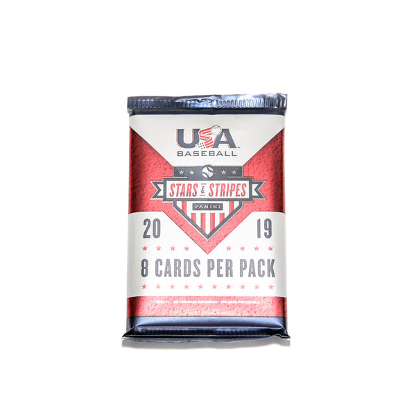 2019 USA Baseball Stars & Stripes Foil Pack