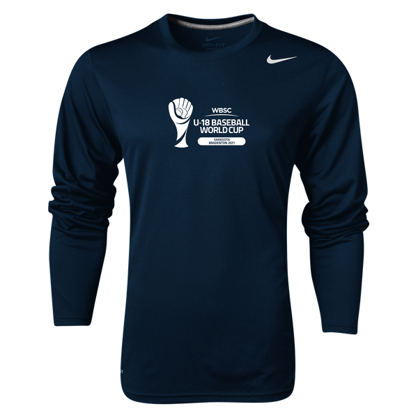 Long Sleeve U-18 Baseball World Cup 2021 Event Tee