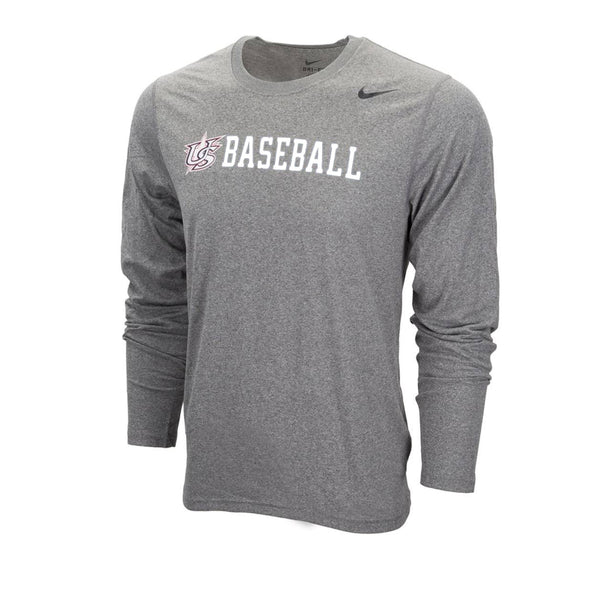 Grey Long Sleeve Legend Tee