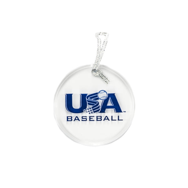 Clear Round Acrylic Ornament