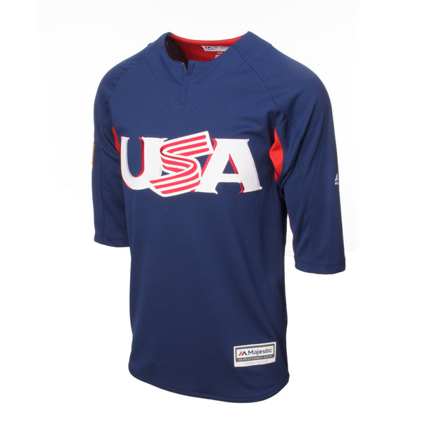 3/4 Sleeve On-Field BP Trainer Jersey - Jersey Logo