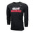 Black Long Sleeve USAB Legend Tee