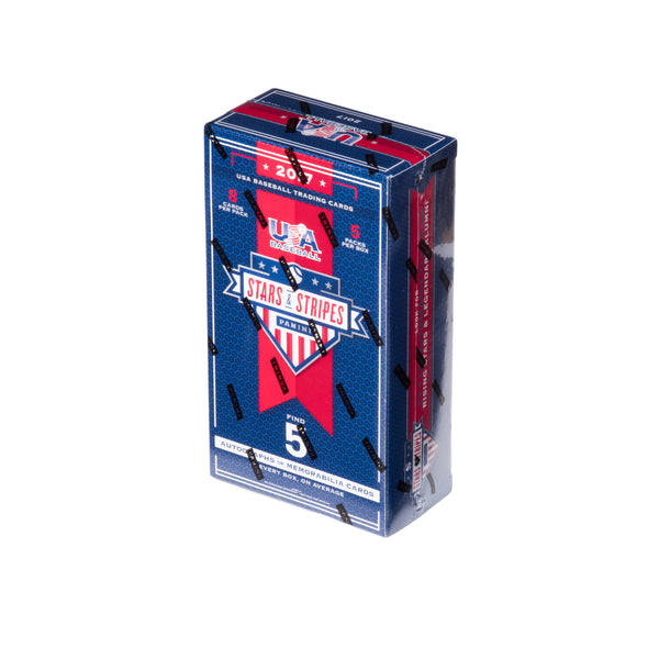 2017 USA Baseball Stars & Stripes Hobby Box