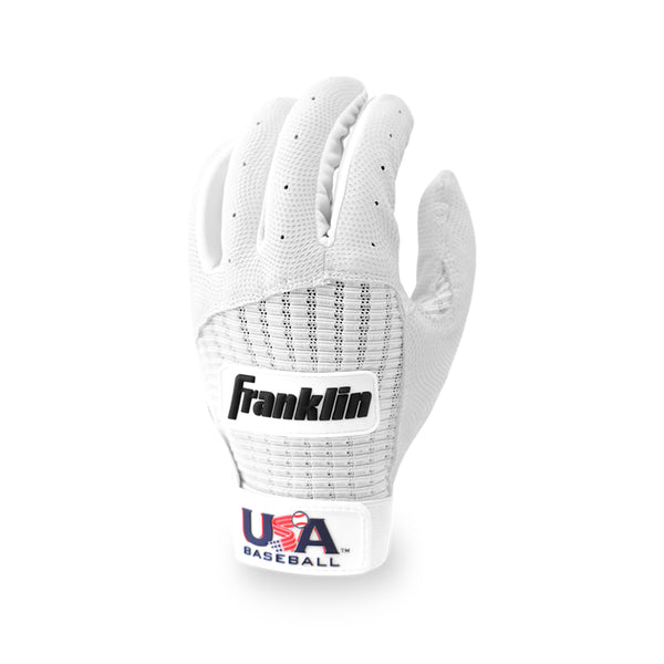 White Pro Classic Batting Gloves