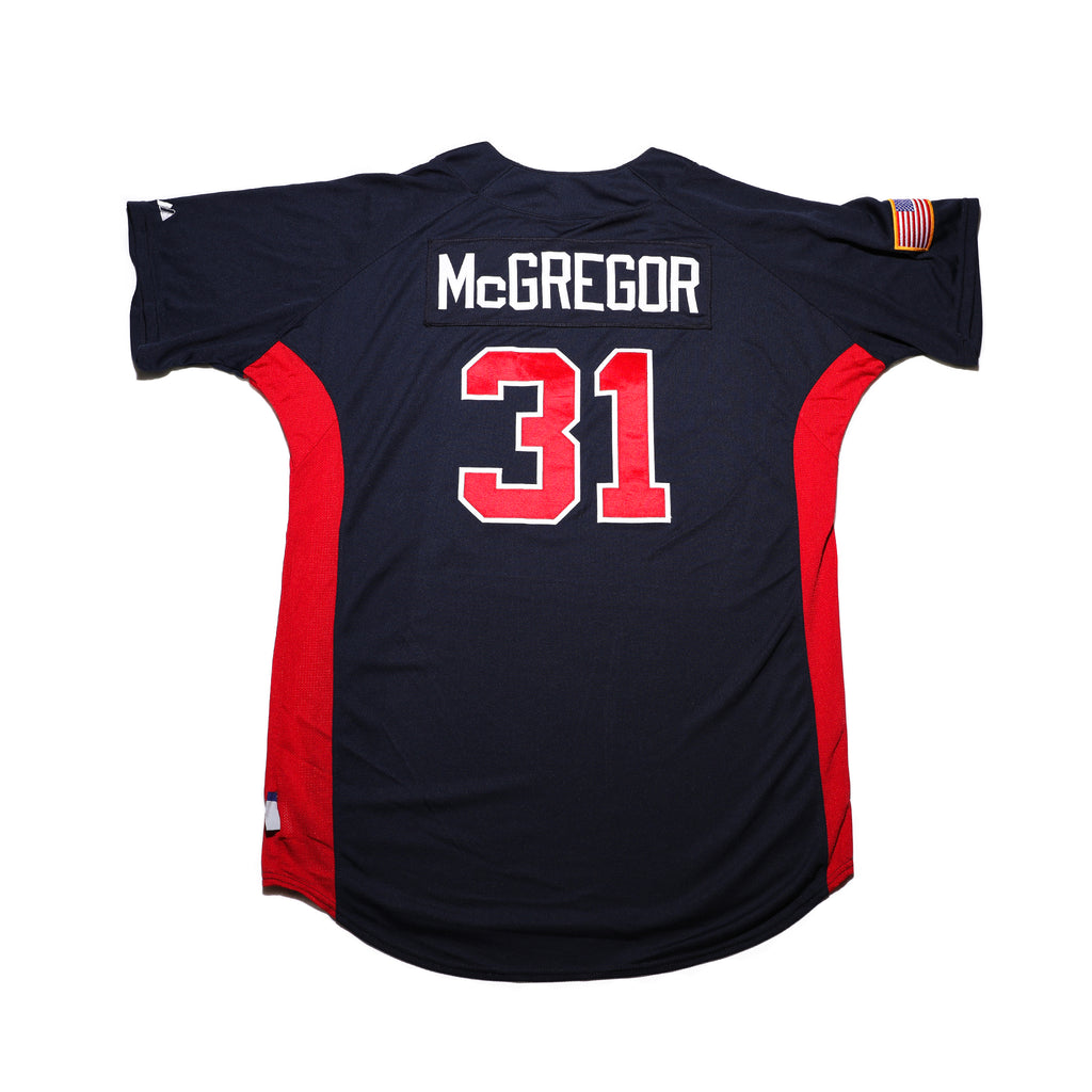 Scott McGregor Game Worn Jersey