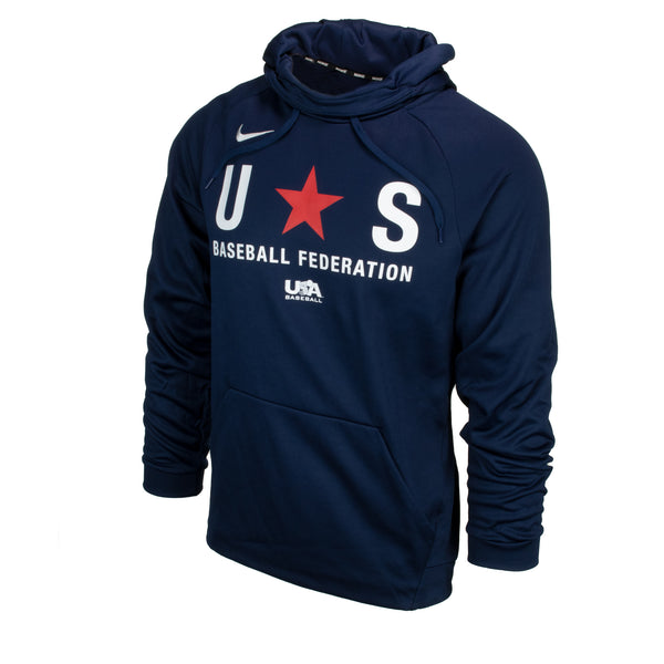 Navy Baseball Federation Therma Hoodie