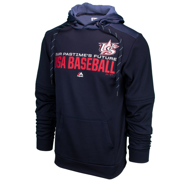 24b5088b828 Majestic Navy Authentic Collection Team Distinction Hoodie