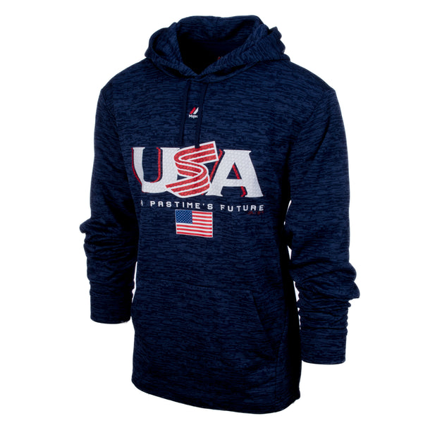 Navy Authentic Collection Team Drive Hoodie