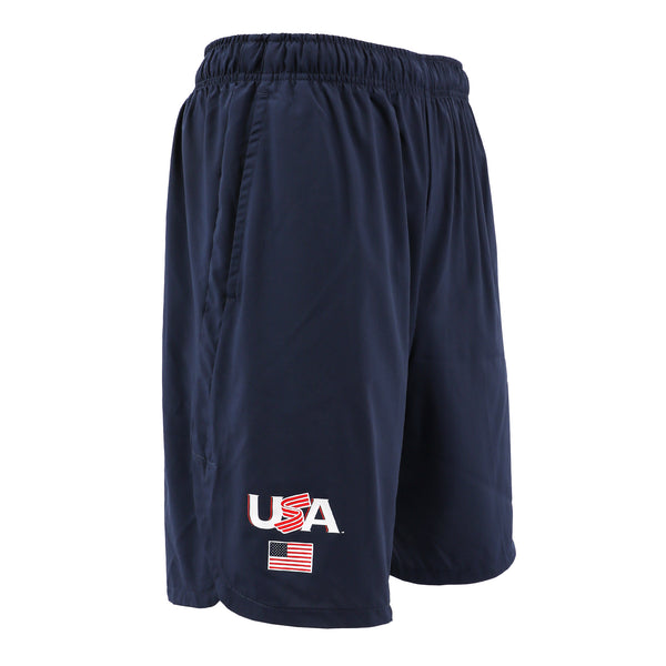 Nike Navy Jersey Logo Woven Training Shorts With Pockets