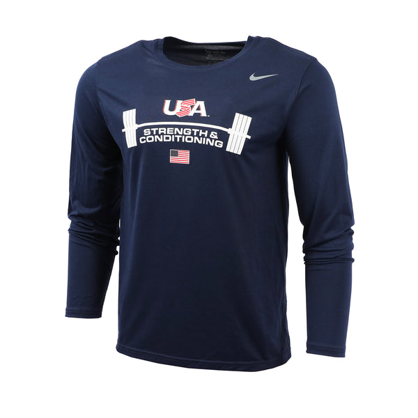 USA Navy Strength & Conditioning Long Sleeve Legend Tee