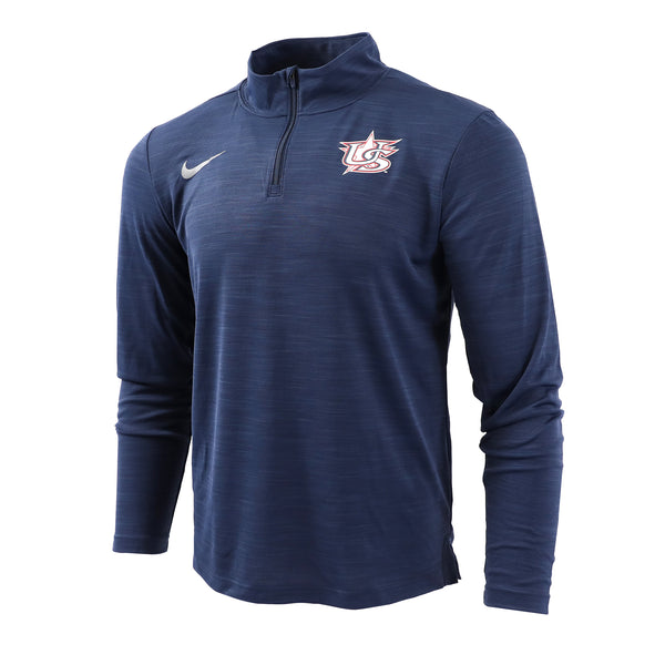 Navy Intensity 1/4 Zip Top