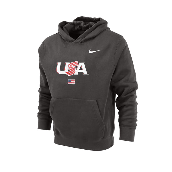 Youth Jersey Logo Hoodie