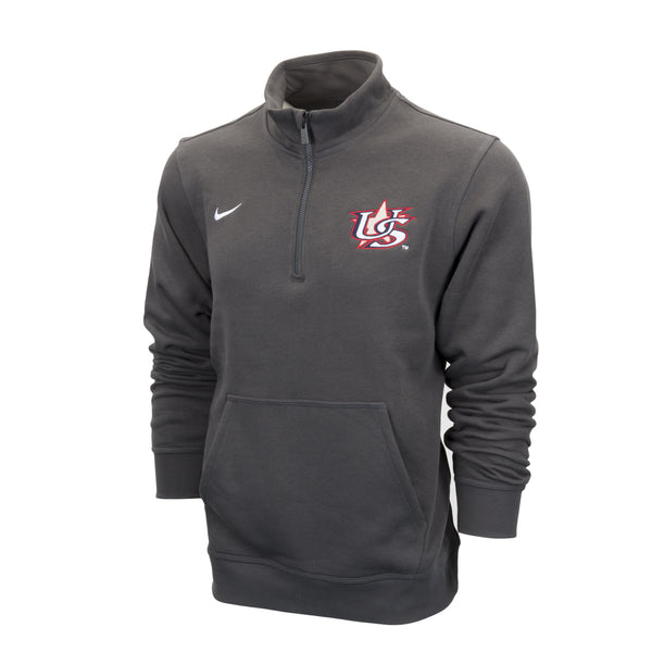 Anthracite 1/4 Zip Fleece