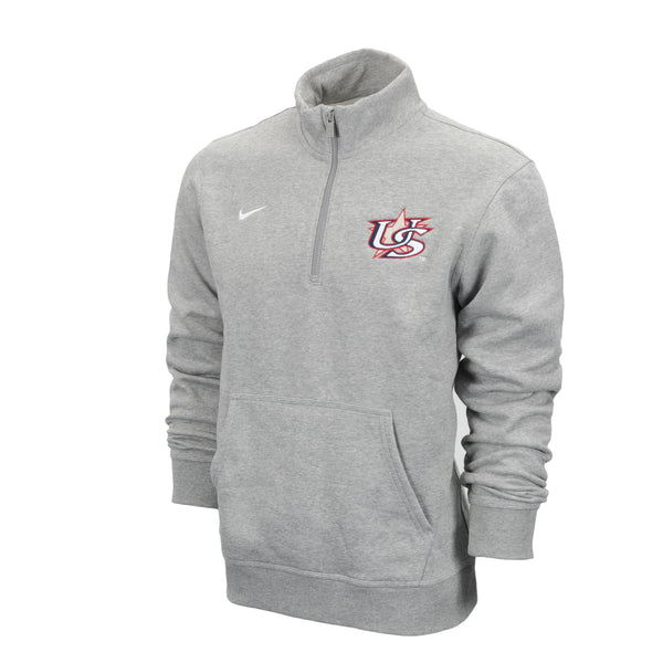 Light Grey 1/4 Zip Fleece