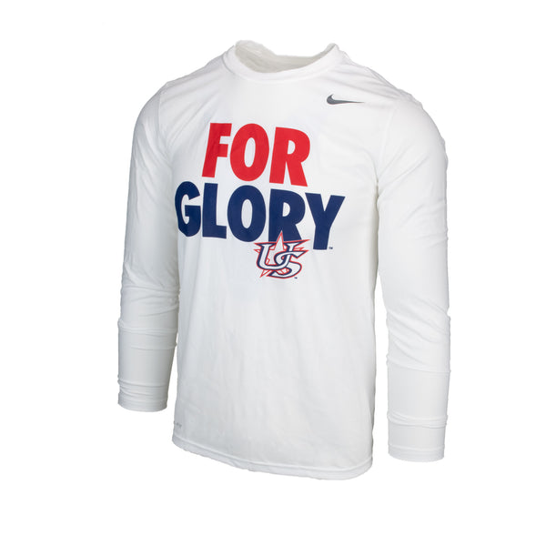 White For Glory Long Sleeve Legend Tee