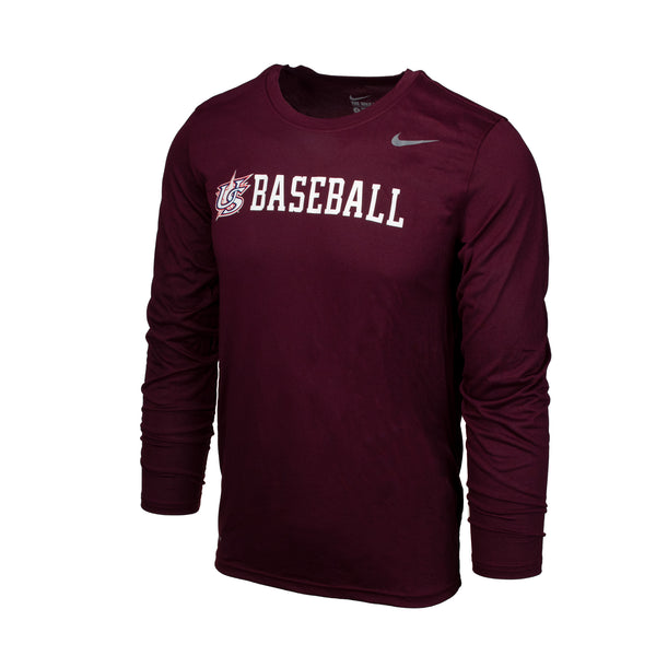 Maroon Long Sleeve Legend Tee