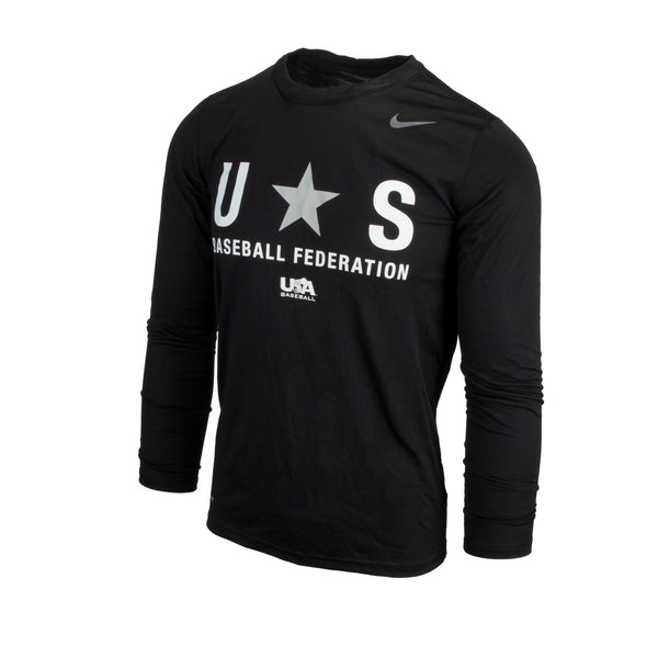 Black Baseball Federation Long Sleeve Legend Tee