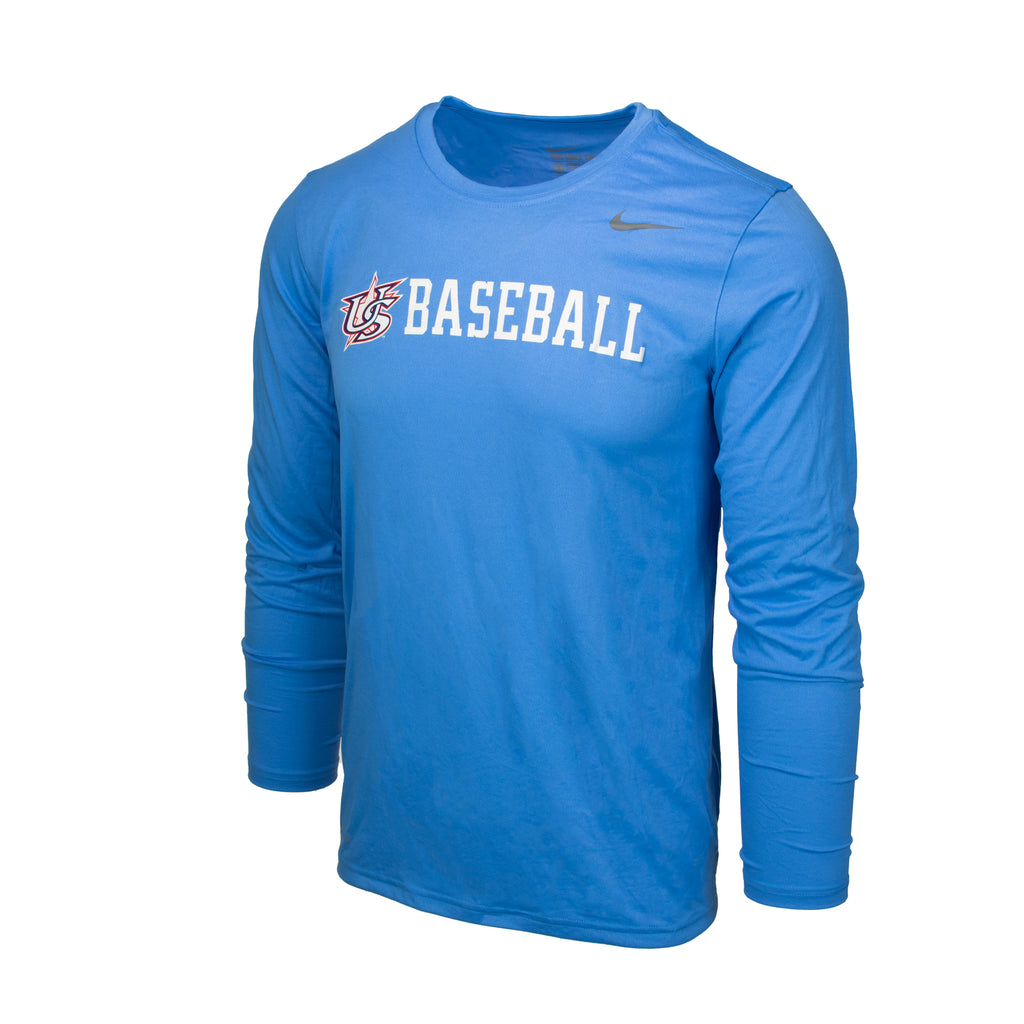 Light Blue Long Sleeve Legend Tee