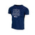 Youth UA Navy BSB Tee