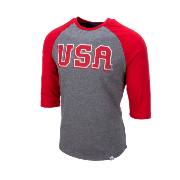 1992 Red Retro Raglan