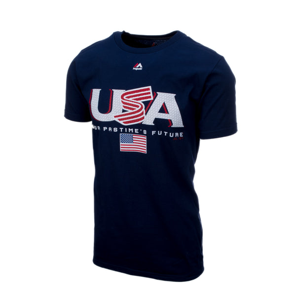 Navy Authentic Collection Team Drive Tee