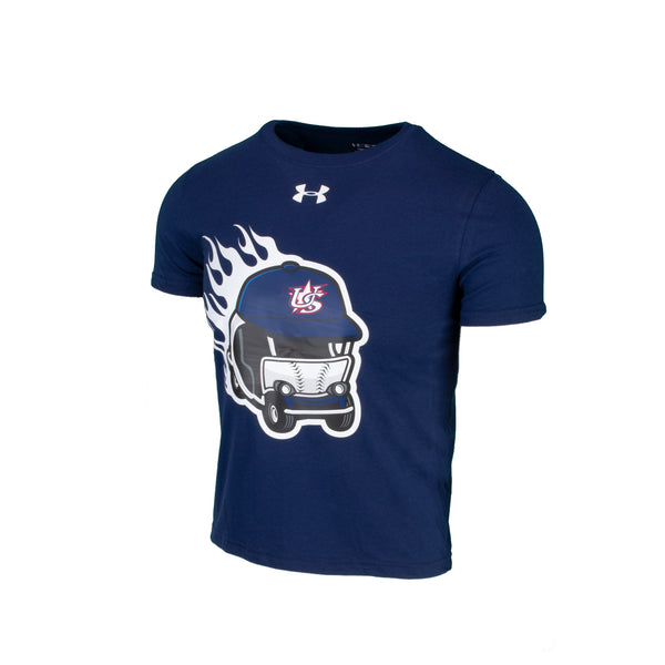 Youth UA Navy Wild Thing Tee
